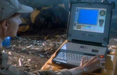 Congo SGI Silicon Graphics Indy laptop