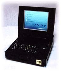 CRI ruggedized military SGI Silicon Graphics Indy laptop