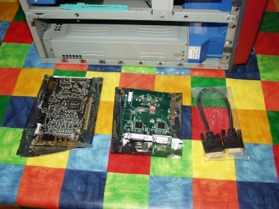 Silicon Graphics SGI Fuel GFX-1600SW Soundblaster Audigy 2 ZS